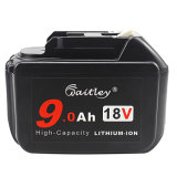 Bl1890 18V 9.0ah Replacement Power Tool Battery with Makita Bl1830 Bl1850 Bl1860 Bl1890 Lxt Lithium-Ion Battery Tools with LED Indicator