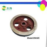 Factory Mini Tractor Engine Parts Flywheel Without Ring Gear