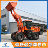 Chinese Pay Loader 2.5 Ton Mini Wheel Loader with Spare Parts