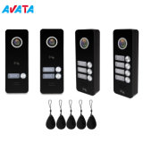 1-4 Buttons Video Door Phone Intercom Home Security Villa Apartment Doorbell