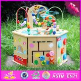 2016 Wholesale Beads Wooden Educational Toy Suppliers, Funny Beads Wooden Educational Toy Suppliers W11b081