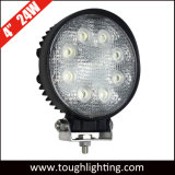 "DC 9-32V IP67 Spot Flood 4"" 24W Round LED Tractor Lights"