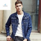 Fashion Slim Men Cotton Long Sleeve Denim Jackets with Printing by Fly Jeans