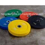 Gym Fitness Equipment Rubber Barbell Plate Rubber Bumper Plate Crossfit Training