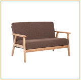 Modern Home Living Room Furniture Wooden Single Seat Cushion Sofa