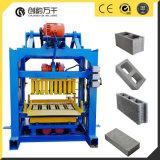 Qtj4-40 Manual Concrete Machine Cheap Hollow Block Making Machine for Sale