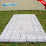 Interlocking Temporary Flooring Tiles to Protect Natural and Artificial Grass