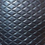 Artificial Vinyl PVC Leather for Hotel Decoration Wall Upholstery Hw-693
