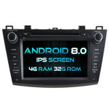 Witson Eight Core Android 8.0 Car DVD for Mazda 3 2010-2011 4G ROM 1080P Touch Screen 32GB ROM IPS Screen
