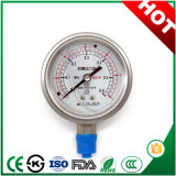 60mm Bottom Connection Shock Resistant Pressure Gauge with Attractive Price