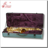 Gold Lacquer Bb Key Student Tenor Saxophone