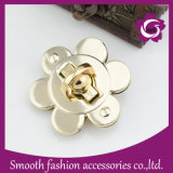 Fashion Flower Shape Handbag Hardware Bag Twist Lock Accessories