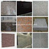 Light Grey, Rusty Yellow, Maple Red, Dark Grey etc Chinese Cheap Granite Tiles and Granite Paving Stones
