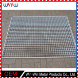 Square 4X4 5X5 10X10 Expanded Metal Stainless Steel Wire Cheap Welded Mesh