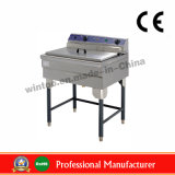 52LTR Vertical Staninless Steel Fryer with CE (WEF-521)