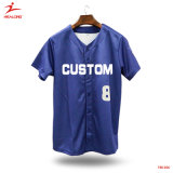 Healong Sportswear Embroidery Logo Baseball Jersey Shirts Uniforms