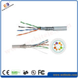 Sf/UTP Double Fully Shielded Cat 5e Twisted Pair Network Cable