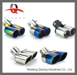 [Qisong] Variety Automotive Alloy Steel Muffler Tail Pipe for Cars
