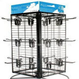 Spinning Metal Wire Jewellery Counter Display Stand
