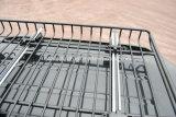Black Steel Made Heavy Duty Cargo Carrier Top Luggage Roof Rack Basket