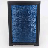 201, 304 Embossed Stainless Steel Decorative Sheet with Sapphire Blue Coating Color