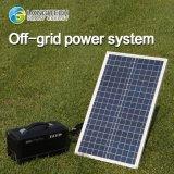 off-Grid Home Solar Power System 78ah 300W AC/DC Lithium Battery (poly-Si 100W) Solar System Solar Power Solar Energy
