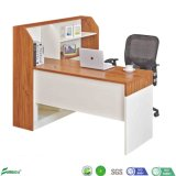 Modern Cheap Melamine Particle Board Workstation with Bookcase