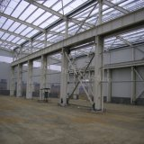 Low Price Prefabricated Light Steel Frame Structure Workshop in Comoros
