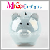 Wholesale OEM Service Lovely Pig Shaped Ceramic Piggy Bank