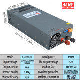 S-1500-24V Adjustable Voltage High LED DC Switching Power Supply 1500W AC to DC 24V 62A