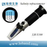 Hot Sale Seawater Hand Held Salinity Refractometer Meter (LH-Y100)