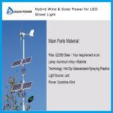 Solar Wind Hybrid Street Light 100W Wind + 100W Solar + 30/50W LED Light