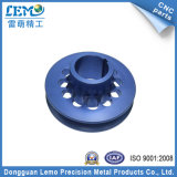 Blue Anodized CNC Machined Turning Parts with OEM Services (LM-162M)