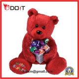 Holiday Gift Kids Baby Doll Teddy Bear Soft Stuffed Plush Toy