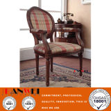 Wooden Furniture Solid Wood Chair with Armrest