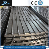 180 Degree Turning Chain Plate Conveyor Belt