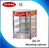 Catering Equipment Factory Curve Shaped Kfc Food Warmer Display