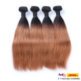 8A Grade Weaving Human Hair Extensions Ombre Indian Hair