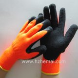 Nappy Acrylic Liner Coated Gloves Safety Insulated Latex Work Glove