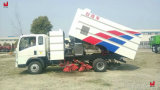 HOWO Cleaning Brush Road Highway Sweeper Truck