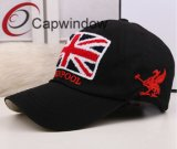 Black Embroidery with Hook & Loop Closure Leisure Sport Baseball Cap