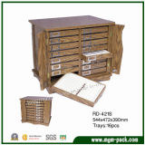 The First Wholesale Contracted Style Wooden Cabinet for Jewelry