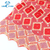 Fashion T/C Rhinestone Polyester Embroidery Textile Garment Accessories Lace Fabric