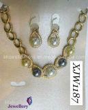 Pearl Jewelry Set/Wedding Jewelry Set/ Necklace Set/Pearl (XJW1187)