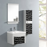 MDF Bathroom Cabinet with Basin and Mirror