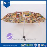 Personalized Custom Design Printed Lady Sun Umbrella
