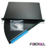 Swing out Rack Mounted Fiber Optic Patch Panel LC Duplex