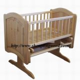 Modern Rocking Wooden Baby Cradle Bc-019