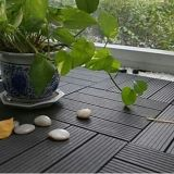 Beautiful Decorative DIY Floor WPC Outdoor Patio Tiles Decking Wood Plastic Composite