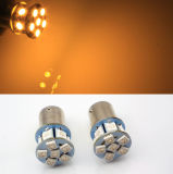 6V 1156 Ba15s 12 SMD LED Amber Car Bulb Light Brake/Turn/Tail /Reverse Lamp